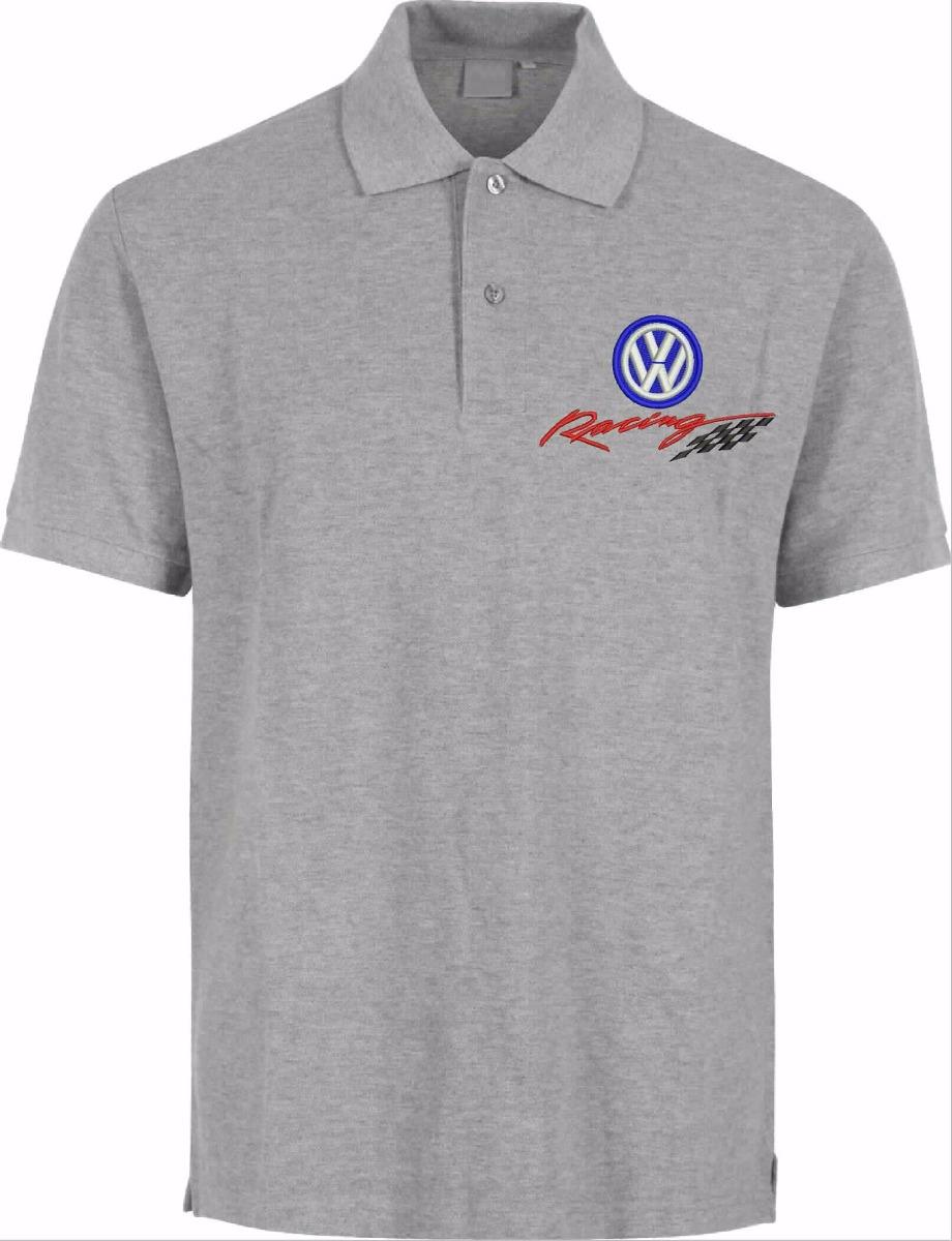 4 camisa polo bordado volkswagen racing. Carregando zoom. aab37f900d6b5