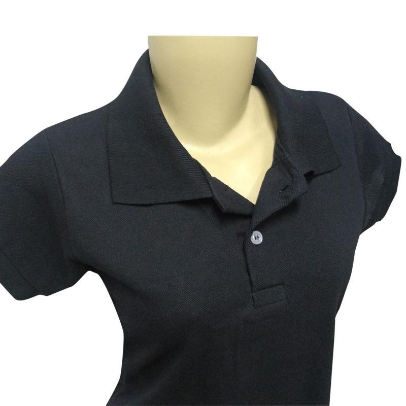 4 Camisas Polo Feminina Piquet 100% Polister - R  110,00 em Mercado ... 4ea8579b89