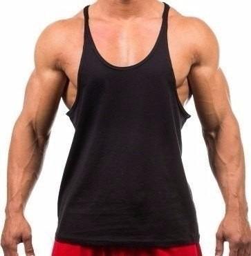 8e516879fcf43 4 Camisetas Regata Super Cavada Academia- Masculina! - R  67