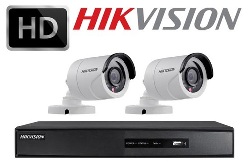 4 canales hikvision hd-tvi turbo full hd 1080p tri-hibrido