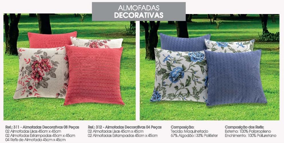5a6942b08 4 capas de almofadas decorativas lisas e estampadas promoção. Carregando  zoom.