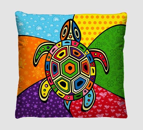 4 capas de almofadas decorativas - romero brito