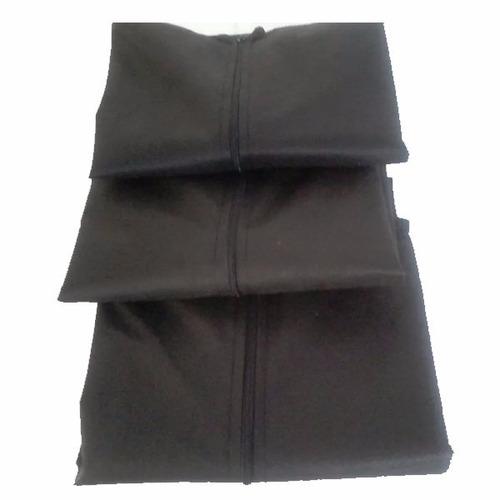 4 capas protetor de vestido de festas de tnt c/ zíper e viso