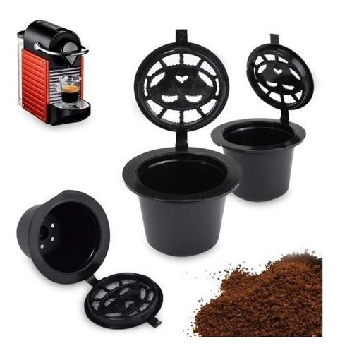 4 capsulas rellenables nespresso reutilizables