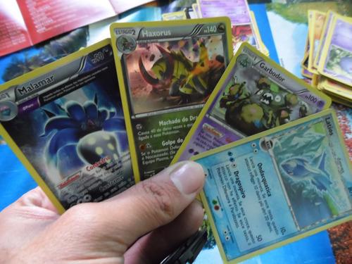 4 cartas raras pokémon
