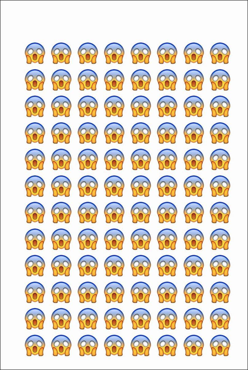 Armario Garaje Plastico ~ 4 Cartelas Com 96 Adesivos 1cm Emojis Whatsapp Frete Barato R$ 18,99 em Mercado Livre