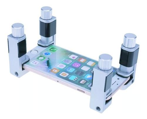 4 clip prensa sujetadores de pantalla display lcd/touch iphone/android