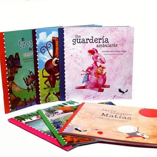 4 colecciones águila azul (24 libros infantiles)