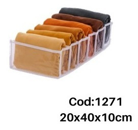 4 colmeia organizadora de gaveta paramount 40x20x10cm 6div.