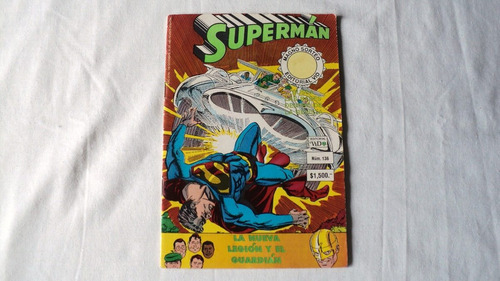 4 comics de superman editorial vid 1991 1992 mexico