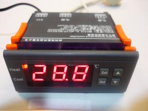 4 controlador digital temperatura termostato cerveja aquário