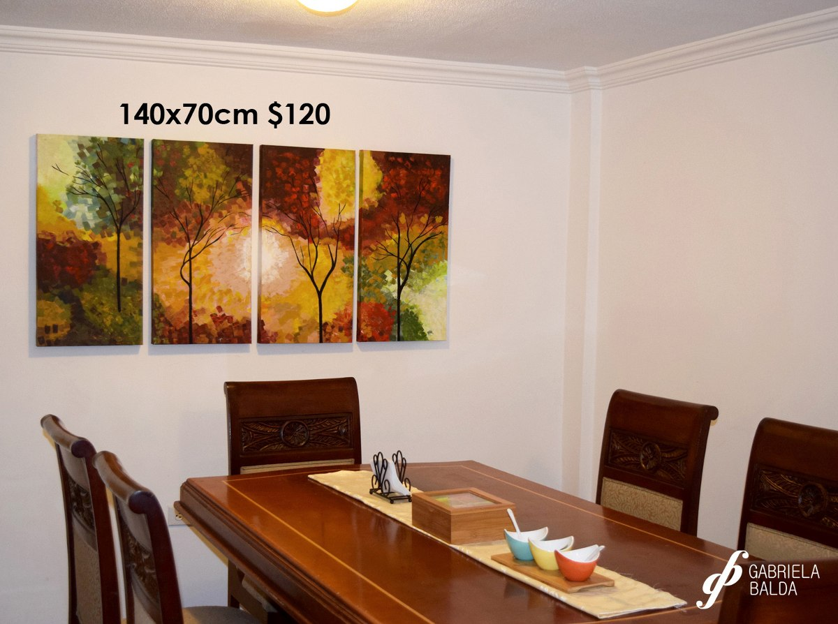 Pinturas para salas interesting with pinturas para salas for Cuadros comedor grandes