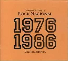 4 decadas de rock nacional 1976 1986 varios int cd x 2 nuevo