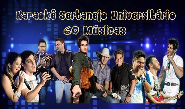 dvd karaoke sertanejo universitario gratis