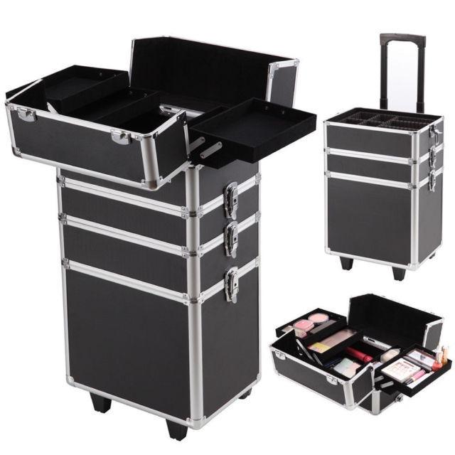 a5ab52324 4 En 1 Maletin Para Maquillaje Profesional Con Ruedas - $ 479.990 en  Mercado Libre