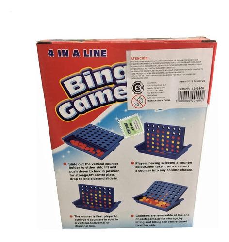 4 en linea juego de mesa estrategia original