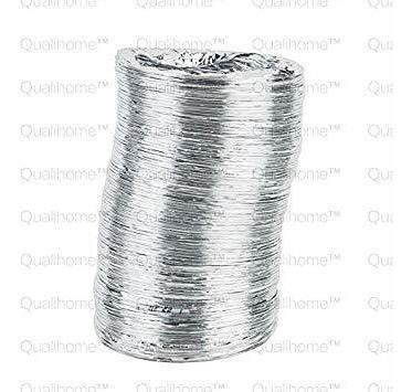 4 en. x 8 ft. dryer vent de aluminio del conducto, para gas