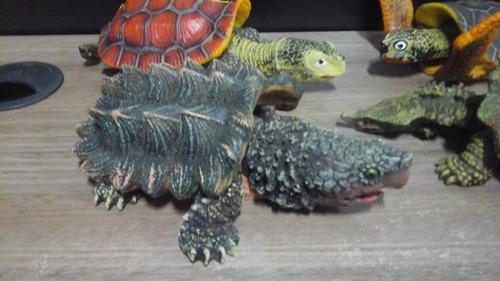 4 enfeites aquário soma  tartaruga  liquidação fish ornament