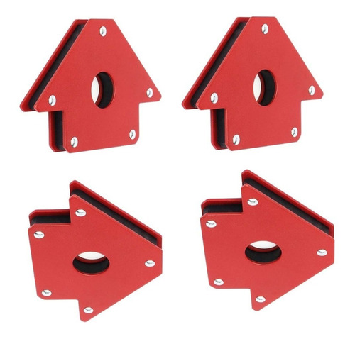 4 escuadras magnetica + 4 prensa esquinera + escuadra alumin