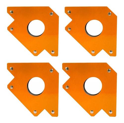 4 escuadras magneticas soldador 3 pulg 9kg lqe6001 lusqtoff