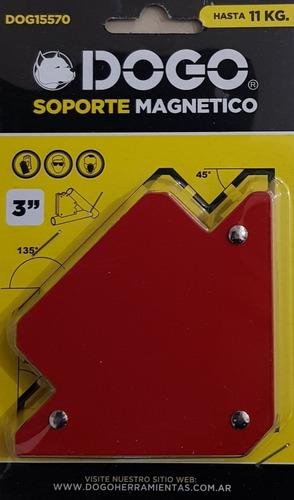 4 escuadras magneticas soldar 3'' 11kg dogo dog15570 mm