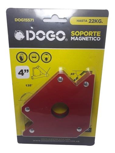 4 escuadras magneticas soldar 4'' 22kg dogo dog15571 mm