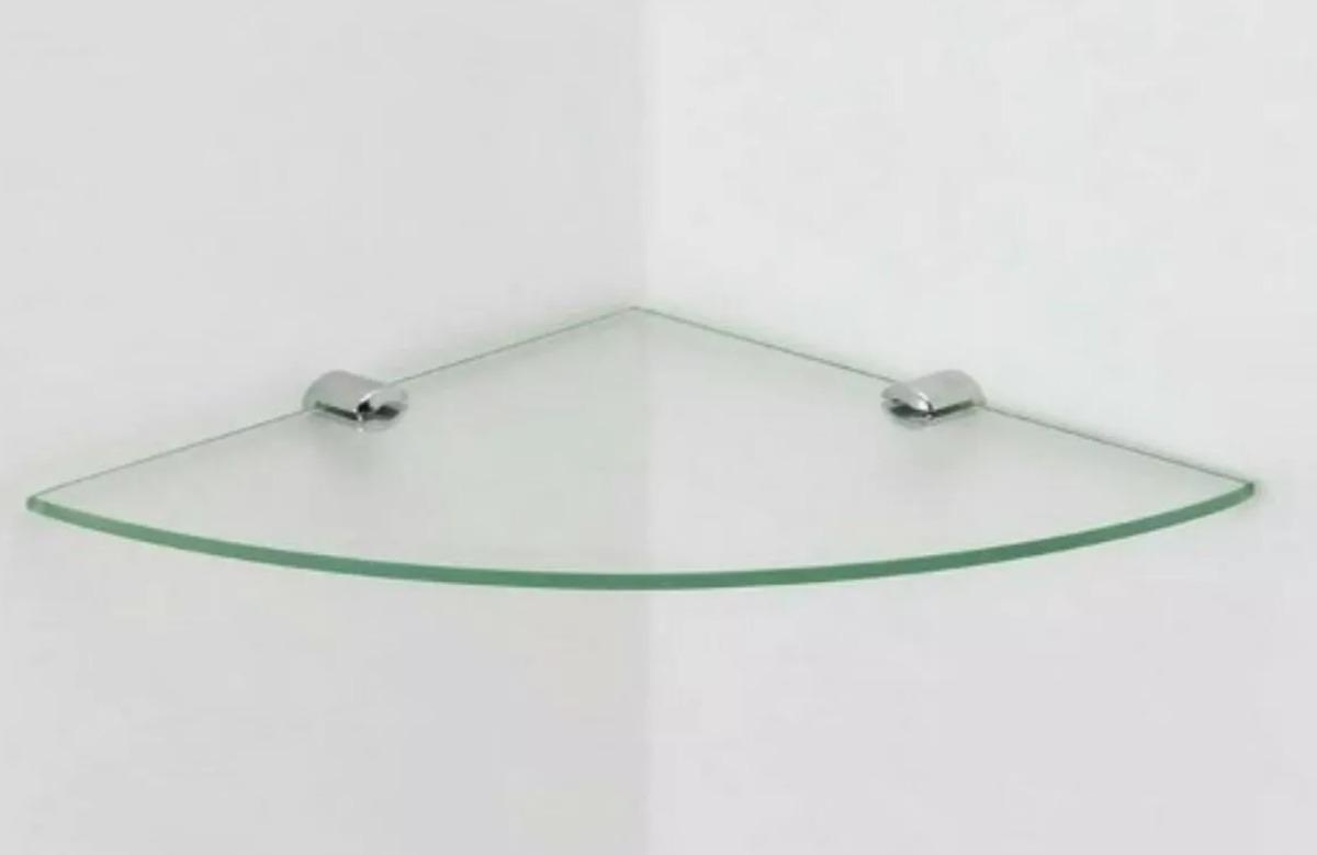 4 Estante Repisa Esquinero Ducha Baño Vidrio 6mm (soportes) -   800 ... 0c95274e63ab