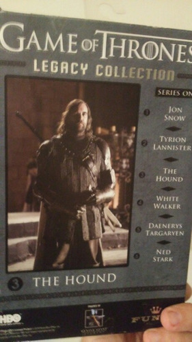 4 figuras..game of thrones legacy collection