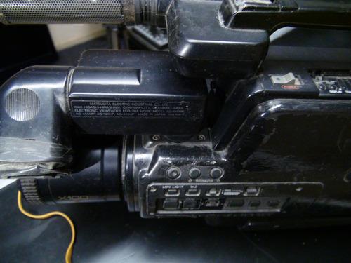 4 filmadoras panasonic m3000,m9000,ag-455,ag-456 defeito