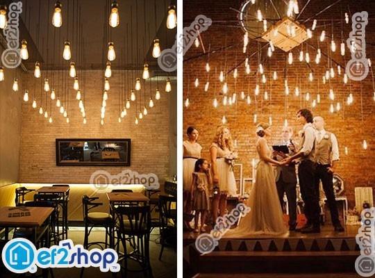 4 Focos Vintage Retro Edison Bulbo Casa Bar Deco Osram 40w