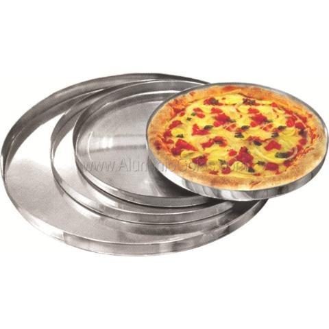 4 formas de pizza em alumínio premium grandes 22 24 26 e 34