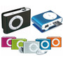 Mp3 Shufle Con Ranura Micro Sd Hasta16gb Audifonos Tipo Clip