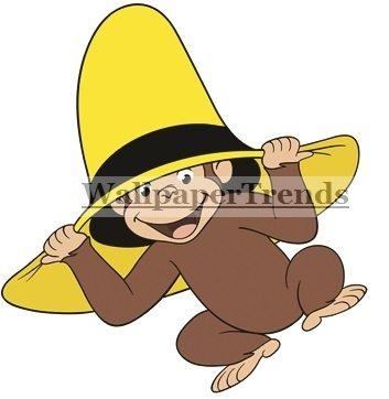 4 George Hombre Curioso En Sombrero Amarillo Mono Peine Desp ... 1b4318e8871