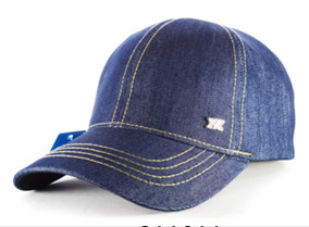 97f574ac0238 4 Gorras Jean Azul Visera Gorra Hebilla Metal Regulable F 1