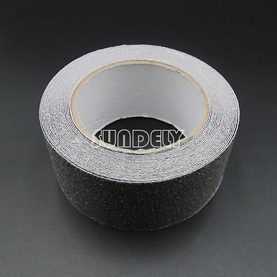 4  gris anti slip cinta agarre adhesivo respaldado antidesli