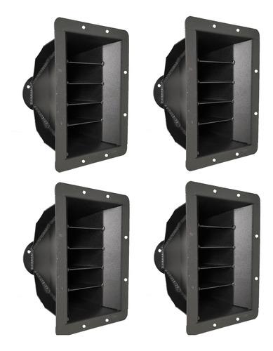 4 guia de onda para caixa de som line array 8 polegadas