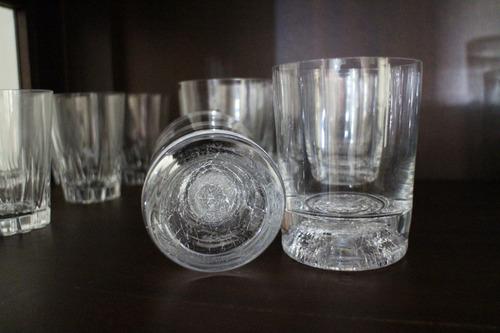 4 hermosos vasos whisky marca francia cristal d´arques fotos