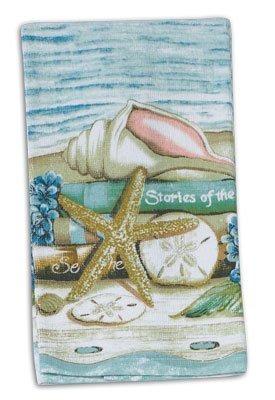 4 historias pieza del mar cocina set / bundle - 2 toallas d