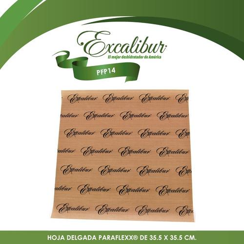 4 hojas paraflex para deshidratador 5 y 9 excalibur pfp14