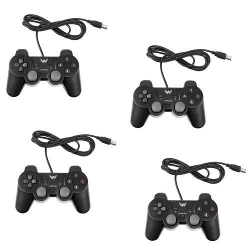 4 joystick controle usb ps3 raspberry pi3 pc liquida geral