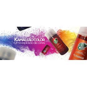 4 Kamaleão Color Máscara Pigmentante Cores Variadas Combo