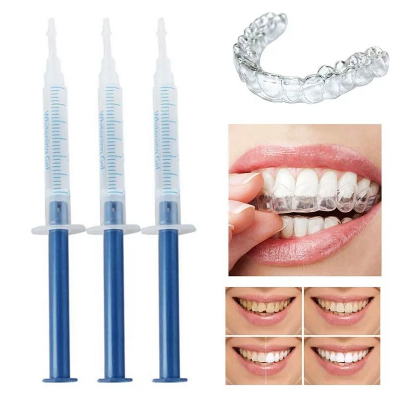4 Kit Clariamento Clareador Dentes 44 Peroxido R 120 00 Em