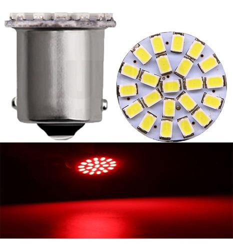 4 lampada de led automotiva 1 polo 1156