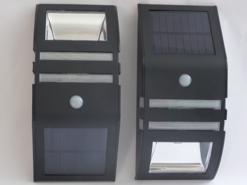 4 lamparas recarga solar p/jardín, resistentes al agua.