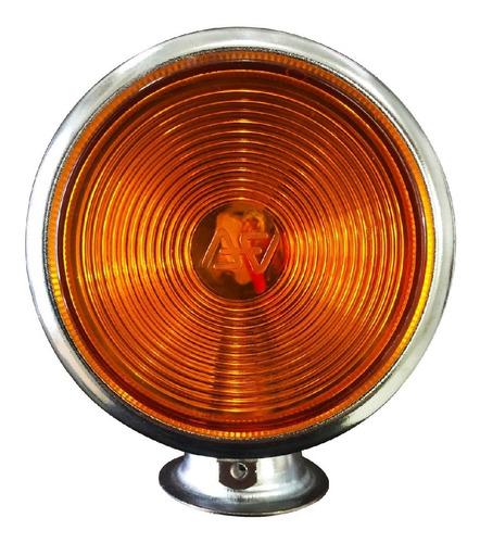 4 lanterna foguinho cromada bojuda maria amarelo vermelho