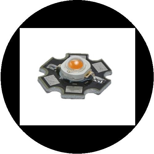 4 led de potencia 3w / ultrabrillante
