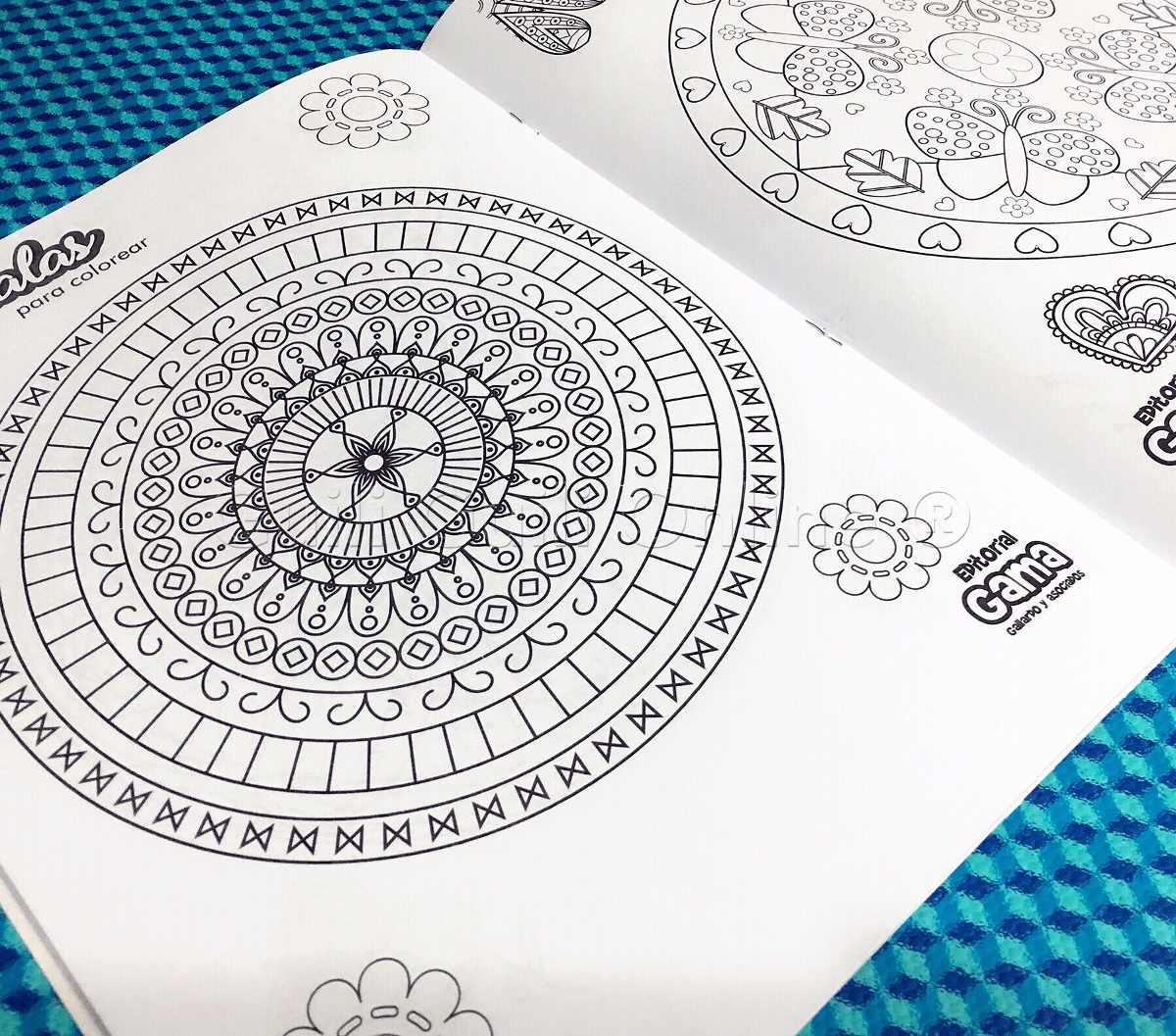 4 Libros Mandalas Para Colorear Niños Relajante Antiestres