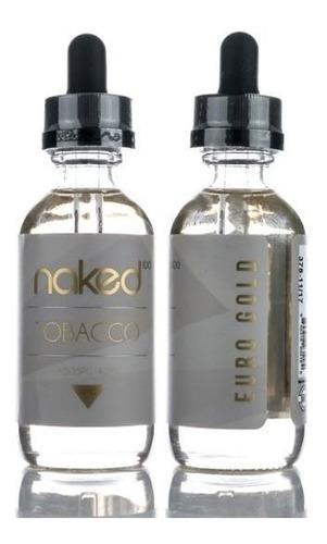 4 liquidos gold naked tobacco 240ml euro gold - cuban blend