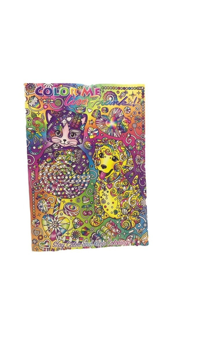 4 - Lisa Frank Adulto Coloréeme Libros Para Colorear, Lápice ...