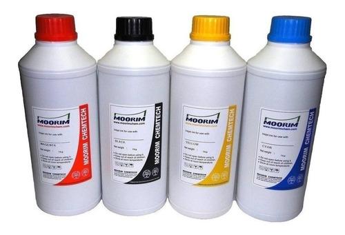 4 litros de tinta para impresoras moorim